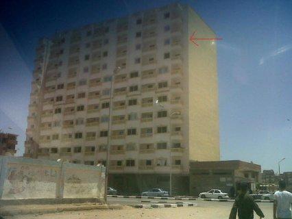 شقة خلف مساكن هيئة قناة السويس ومساكن شباب المثلث