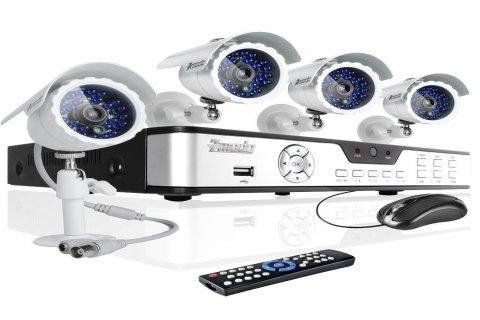 توريد وتركيب كاميرات المراقبة وأجهزة البصمة