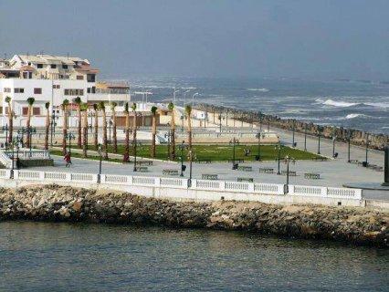 شقة لقطة براس البر على البحر مباشرة