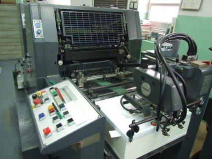 ماكينة طباعة أوفست GTOz-S   ربع فرخ 2 لون