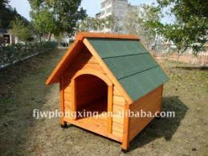 نوفر بيوت الكلاب الخشب والحديد في اقل 24 ساعة