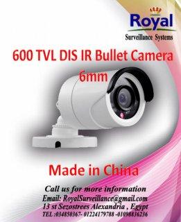 كاميرات مراقبة خارجية 600TVL  بعدسات 6mm