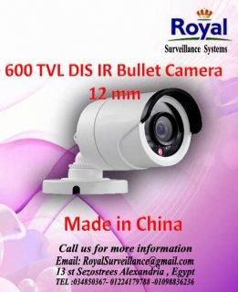 كاميرات مراقبة خارجية 600TVL  بعدسات 12mm