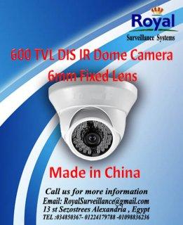 كاميرات مراقبة داخلية 600TVL  بعدسات 6 mm