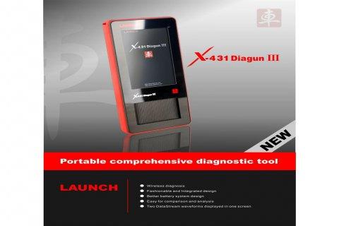 شركة الجراج تقدمLanuch X431 Diagun III لكشف اعطال السيارات