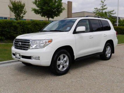 Buy my 2010 Toyota Land Cruiser White with Trim Seats colour\'s