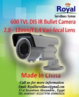 كاميرات مراقبة خارجية 600TVL  بعدسات متغيرة