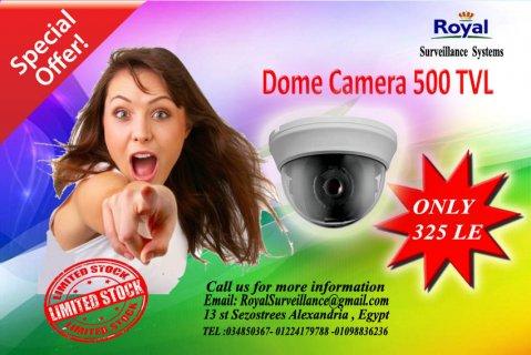 عرض خاص لكاميرات مراقبة داخلية500TVL