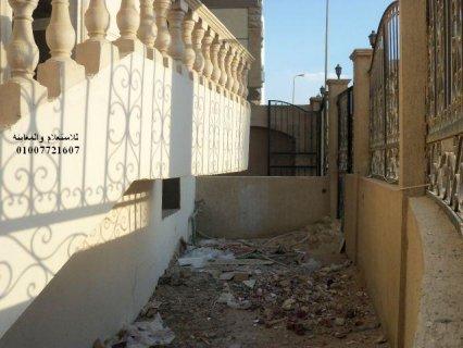 شقه للبيع بالتجمع 110 م البنفسج عمارات