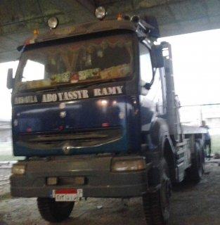 سيارة نقل ثقيل سكس ويل رينو  كراكس موتور400 موديل 1999حمولة60طن
