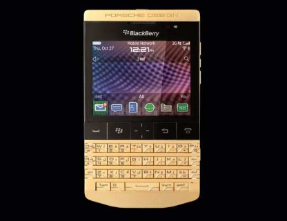 Blackberry porsche Design with Arabic keyboard And Vip pin