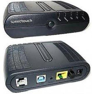 روتر speedtouch + سويتش TP Link