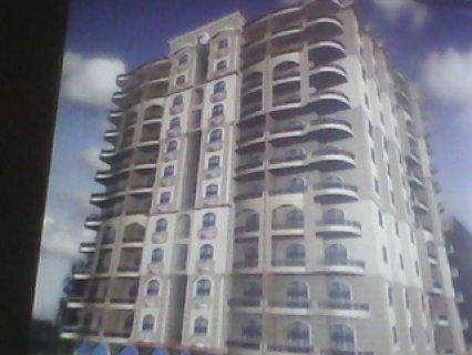 شقة مساحة 160 متر بشارع عز الدين عمر