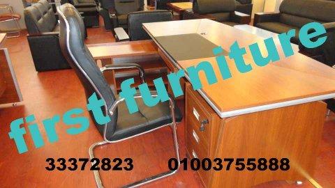 فرست: مكاتب موظفين بأدراج، مقاسات وتصميمات متعددة، اثاث مكتبي