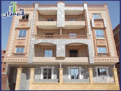 شقة 155م بمدينة الشروق بالمنطقة الثامنة للبيع بالتقسيط