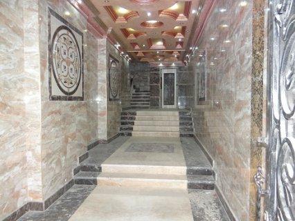 الاسكندرية عمارة جديدة بها عدد محدود من شقق سكنية فاخرة تشطيب لو