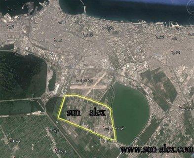 ارض للبيع فى الاسكندرية 188 على شارعين