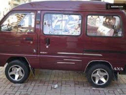 سيارة سوزوكى فان للايجار أو شراكة