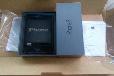 ابل اي فون 32GB 5S مقفلة الهاتف (SIM الحرة)