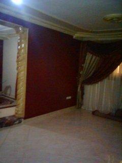 شقة 120م  بفيصل سوبر لوكس شارع هادي نظيف قريبة من الدائرى