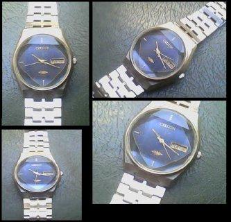 لهواة القديم  للبيع ساعة يابانى قديمه جدا , تحفه فنيه