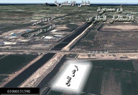 للبيع ارض 604 على بلاسكندرية على اللطريق الدائرى ال مسعود للعقار