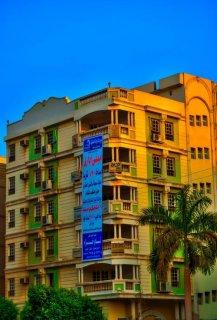 يقع في حي الوزراء بمساكن الشيراتون من ارقي أحياء القاهرة
