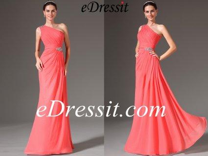 eDressit 2014 فستان السهرة المرجاني الجديد للبيع