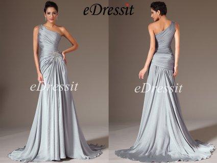 eDressit 2014  فستان السهرة الرمادي الجديد