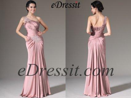 eDressit 2014 فستان بوليرو وردي جديد بسترة