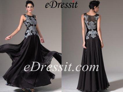 فستان السهرة الأسود للبيعeDressit
