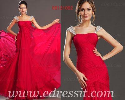 فستان السهرة الأحمر الساحر للبيع eDressit