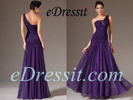 فستان بنفسيجي طويل للبيعeDressit