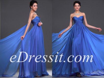 فستان السهرة الأزرق للبيعeDressit