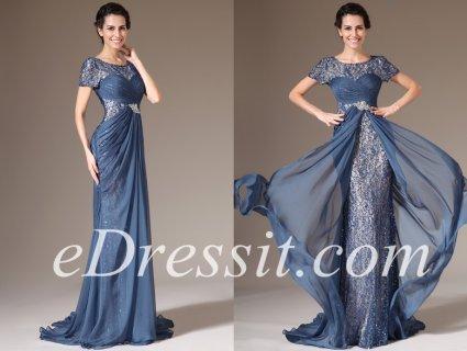 فستان السهرة بالدانتيل للبيعeDressit