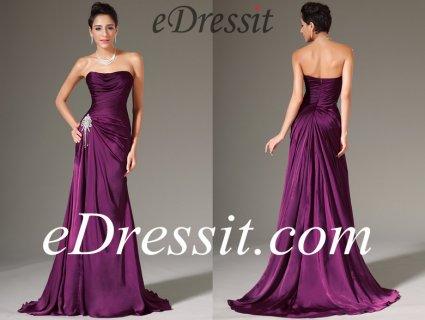 فستان السهرة العاري الكتف eDressit
