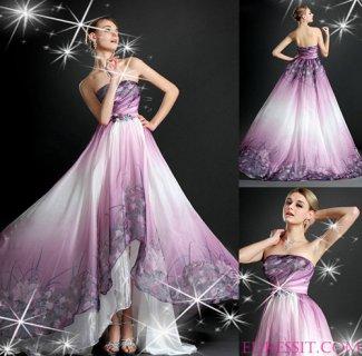 فستان السهرة بطباعة الأزهار للبيعeDressit
