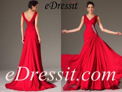 فستان السهرة الأحمر للبيعeDressit