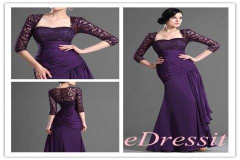 فستان بنفسيجي أنيق للبيعeDressit