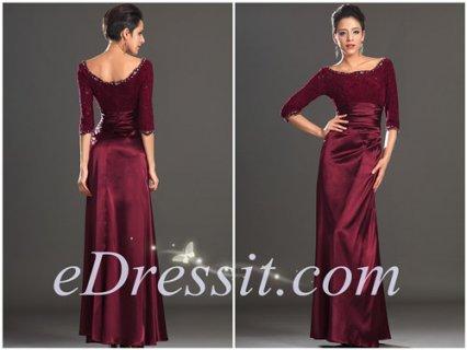 فستان الرائج بأكمام الدانتيلeDressit
