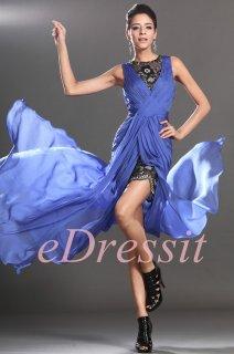 فستان السهرة الأزرق eDressit