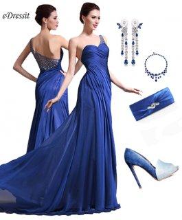 فستان السهرة الأزرق للبيع  eDressit