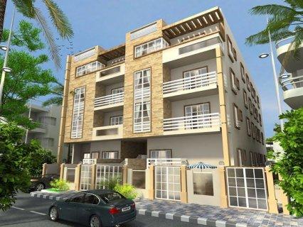 شقة 148م + 20م حديقة  للبيع على الوجهة على حديقة 8 فدان