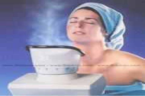 لبشرة ناعمة خالية من الشوائب حمام البخار