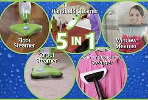 المكنسة _ الممسحة البخارية X5 لتنظيف كل انحاء المنزل