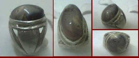 للبيع خاتم قديم جدا من حجر  فؤاد الطير