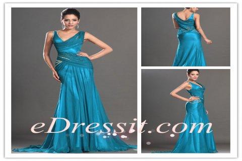 eDressit فستان السهرة الرائج الجديد بكتفين