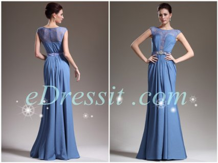 eDressit فستان سهرة الدانتيل الساحر الجديد بلا كمين
