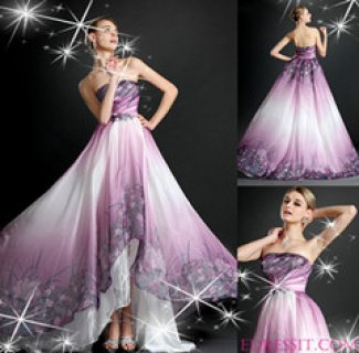 eDressit فستان السهرة الجديد بطباعة الأزهار