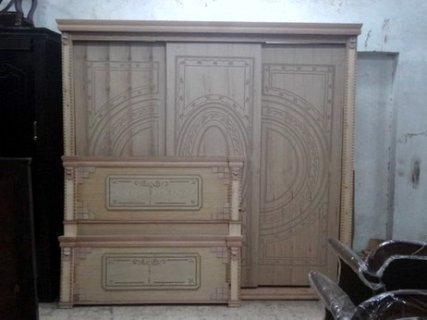 للبيع غرفة نوم جرار كونتر عموولة على لون الخشب  3500